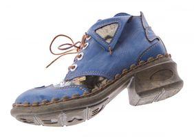 Damen Leder Comfort Knöchel Schuhe TMA 5155 Halb Schuhe Schwarz-Grau Blau Weiß Rot Blockabsatz Boots – Bild 14