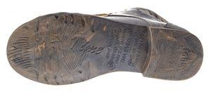 Damen Leder Stiefeletten Comfort Boots Knöchel Schuhe TMA 5166 Halbschuhe Grau Schwarz Rot Weiß Blau – Bild 8
