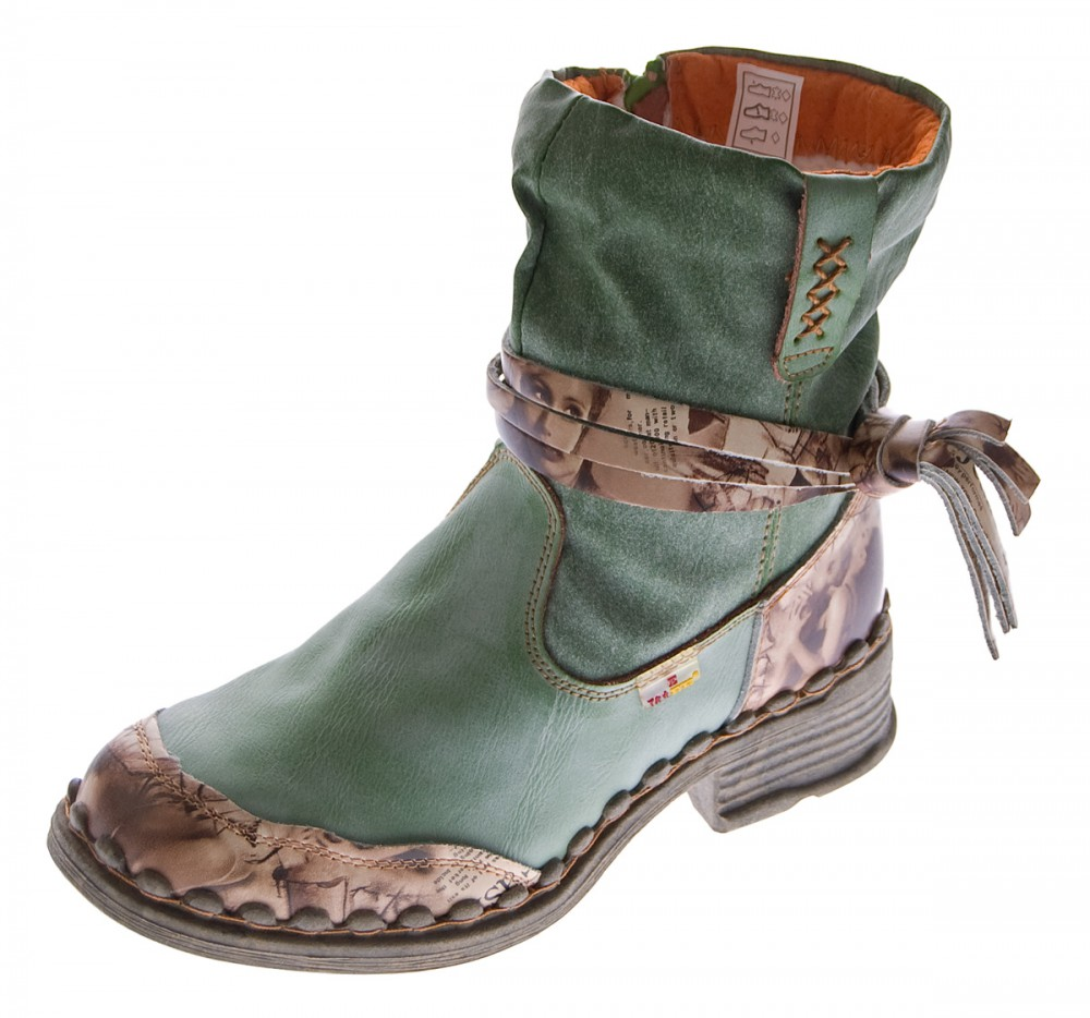 TMA Damen Boots, Apfelgrün - 41