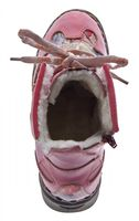 Leder Damen Winter Stiefeletten Comfort Knöchel Schuhe TMA 5171 Schwarz Weiß Blau Rot Boots gefüttert – Bild 20