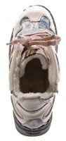 Leder Damen Winter Stiefeletten Comfort Knöchel Schuhe TMA 5171 Schwarz Weiß Blau Rot Boots gefüttert – Bild 25
