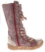 Damen Leder Winter Comfort Stiefel TMA 7086-N echt Leder Schuhe viele Farben Damenstiefel gefüttert – Bild 22