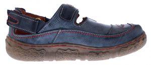 Damen Comfort Leder Sandalen TMA 7093 Schuhe Schwarz Weiss Rot Grün Halbschuhe Sandaletten  – Bild 7
