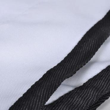 Bootsverdeck Bimini-Top Weiß 183 x 196 x 140 cm – Bild 3