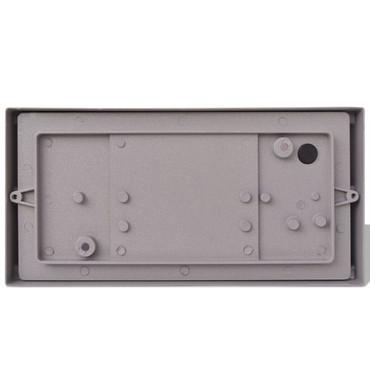 Außenwandlampe Grau Aluminium – Bild 5