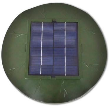 Treibende Solarpumpe Luftsprudler Blattform 1,8 W – Bild 4