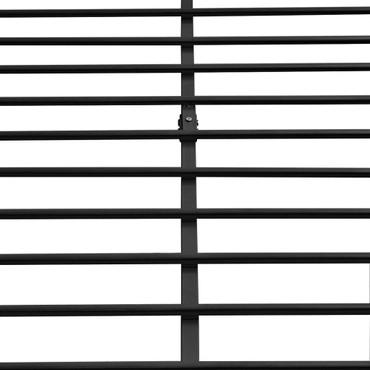 Bettrahmen Metall Schwarz 180x200 cm – Bild 5