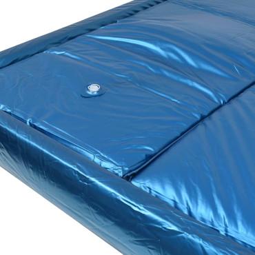 Wasserbettmatratzen-Set mit Einlage + Trennwand 180 x 200 cm F5 – Bild 4