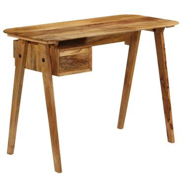 Schreibtisch 110 x 50 x 76 cm Mangoholz Massiv – Bild 11