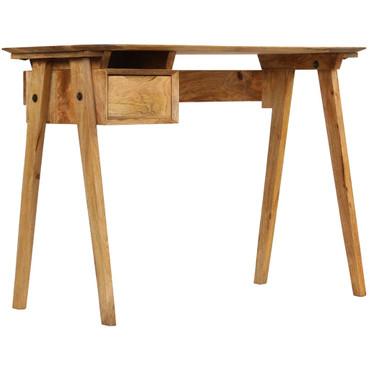 Schreibtisch 110 x 50 x 76 cm Mangoholz Massiv – Bild 4