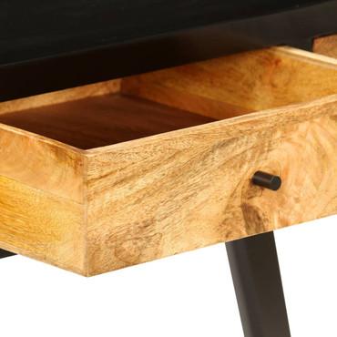 Schreibtisch Mangoholz Massiv 120 x 40 x 76 cm – Bild 8
