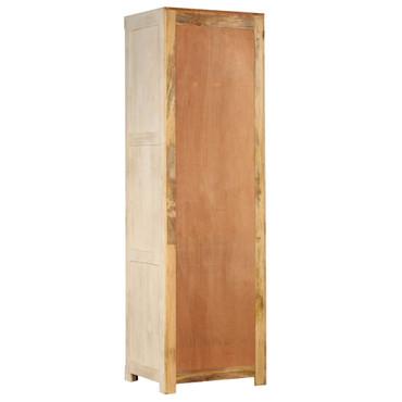 Kleiderschrank Mangoholz Massiv 60 x 50 x 200 cm – Bild 7