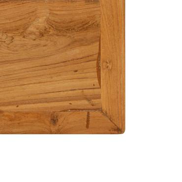 Bartisch Recyceltes Massivholz Teak 150 x 70 x 106 cm – Bild 7