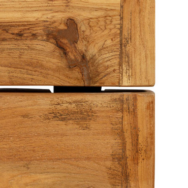 Bartisch Recyceltes Massivholz Teak 150 x 70 x 106 cm – Bild 8