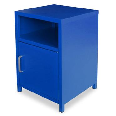 Nachttisch 35 x 35 x 51 cm Blau – Bild 1
