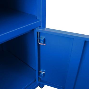 Nachttisch 35 x 35 x 51 cm Blau – Bild 5