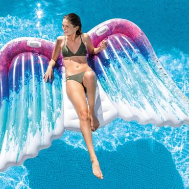 Intex Aufblasbare Luftmatratze Angel Wings Mat 58786EU – Bild 2