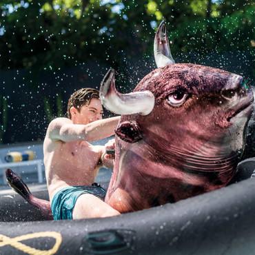 Intex Aufblasbare Badeinsel Inflatabull 56280EU – Bild 5
