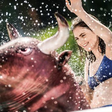 Intex Aufblasbare Badeinsel Inflatabull 56280EU – Bild 6