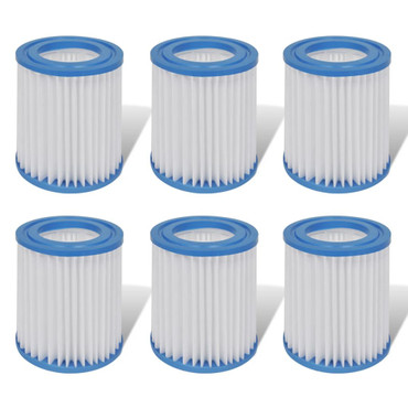 Ersatzfilter für 300 gal / h Pumpe Filter 6 Stk. – Bild 1