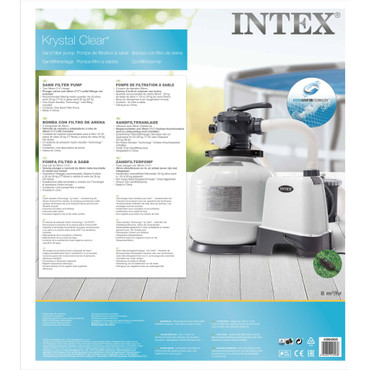 Intex Krystal Clear Sandfilterpumpe 26648GS – Bild 8