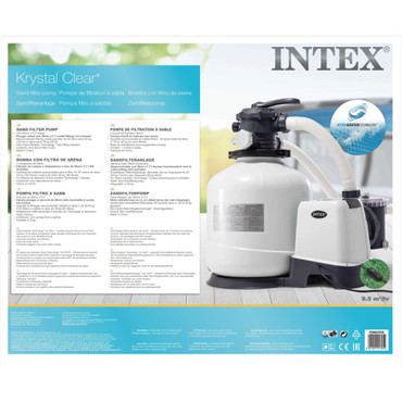 Intex Krystal Clear Sandfilterpumpe 26652GS – Bild 9