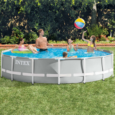 Intex Prism Frame Swimmingpool-Set Rund 457 x 107 cm 26724GN – Bild 6