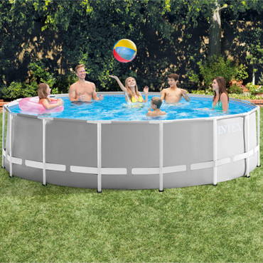 Intex Prism Frame Swimmingpool-Set Rund 457 x 122 cm 26726GN – Bild 6