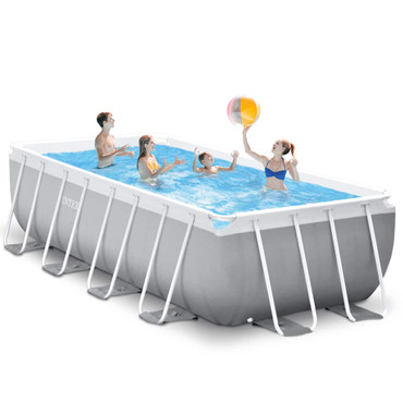 Intex Prism Frame Swimmingpool-Set Rechteckig 488x244x107 cm 26792GN – Bild 4