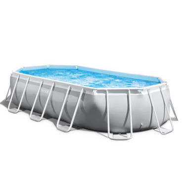 Intex Prism Frame Swimmingpool-Set Oval 503 x 274 x 122 cm 26796GN – Bild 7