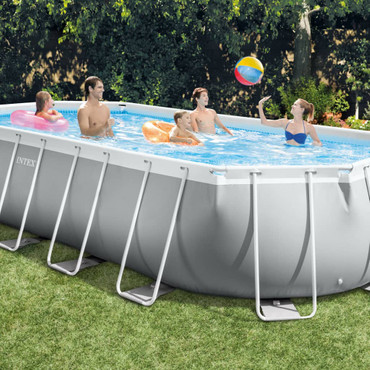 Intex Swimmingpool-Set Prism Frame Oval 610 x 305 x 122 cm 26798GN – Bild 6
