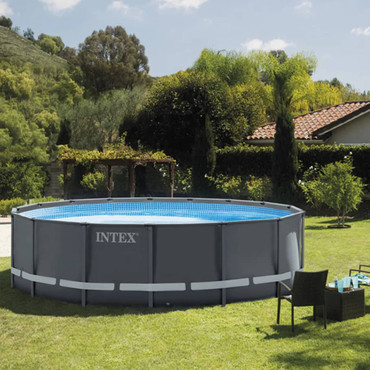 91493 Intex Ultra XTR Frame Swimmingpool-Set Rund 488 x 122 cm 26326GN – Bild 5