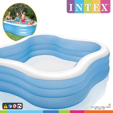 Intex Schwimmbecken Beach Wave 229 x 229 x 56 cm 57495NP – Bild 3