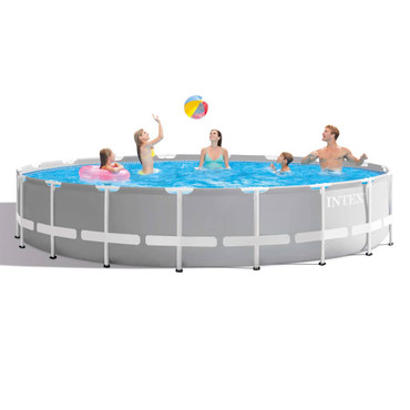 Intex Prism Frame Swimmingpool-Set Rund 549 x 122 cm 26732GN – Bild 4