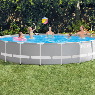 Intex Prism Frame Swimmingpool-Set Rund 549 x 122 cm 26732GN – Bild 5