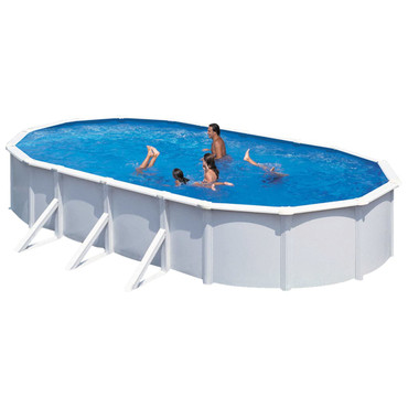 KWAD Schwimmbad Steely Deluxe Oval 7,3 x 3,6 x 1,2 m  – Bild 2