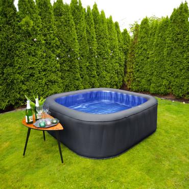 MSpa Aufblasbarer Pool Tekapo 185x185 cm D-TE06 – Bild 4