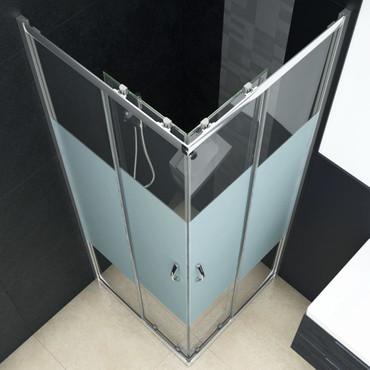 Duschabtrennung Sicherheitsglas 90 x 80 x 180 cm – Bild 5