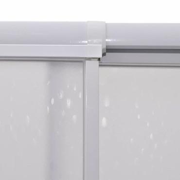 Duschkabine Duschabtrennung Rechteckig 90 x 90 cm – Bild 7
