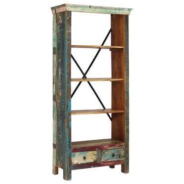 Bücherregal Recyclingholz Massiv 80 x 35 x 180 cm – Bild 8