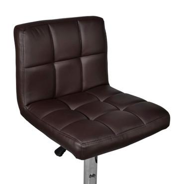 2 x Barhocker Stuhl braun  Höhenverstellbar – Bild 6