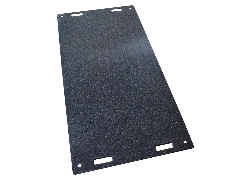 fahrplatte aus kunststoff 10 mm bis 20 t befestigt. Black Bedroom Furniture Sets. Home Design Ideas
