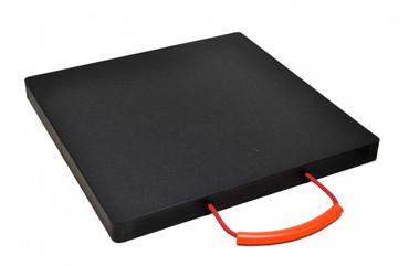 Abstützplatte Kunststoff 600 x 600 mm - schwarz Abstützplatten aus Kunststoff, Unterlegplatten, Kranabstützplatten, 600 x 600 mm schwarz