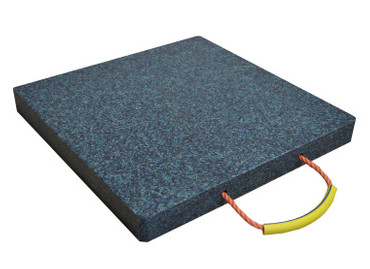 Abstützplatte aus Kunststoff 300 x 300 mm - bunt
