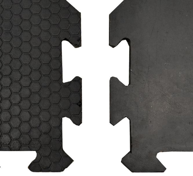 Puzzleverbindung von Gummiboden Hexagon