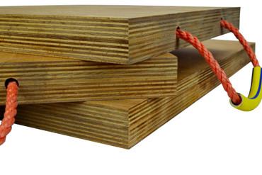 Abstützplatten aus Hartholz 300 x 300 mm (7-9t) – Bild 3