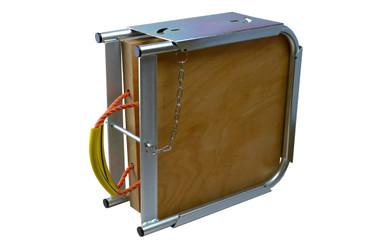 Doppelplattenbox (inkl. 2 Abstützplatten aus Holz) – Bild 1