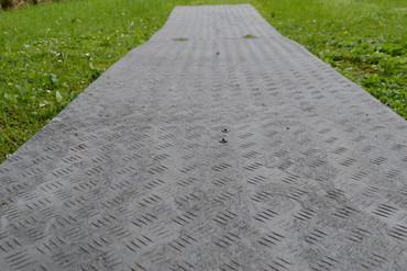 Bodenschutzplatte mit Struktur - 20mm (bis 20 t)