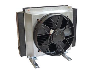 Ölkühler Typ GR200S (12V/24V) Ölkühler GR200S für LKW und Kran ziehend und drückend