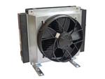 Hydraulikölkühler Universal S300 mit Lufter (12V/24V)